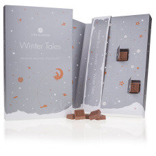 Winter Tales Chocotelegram - Adventskalender mit 24 Schokobuchstaben