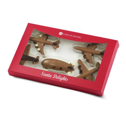Xmas Flugzeuge aus Schokolade