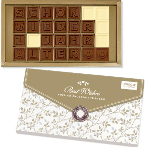 Schokolade Schon wieder 1 Jahr älter :) - ChocoTelegram