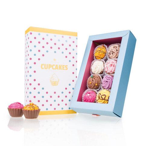 Chocolissimo 8 American Cupcakes  - gefüllte Cupcake-Pralinen