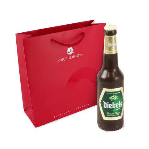 Bierflasche aus Schokolade Valentinstag