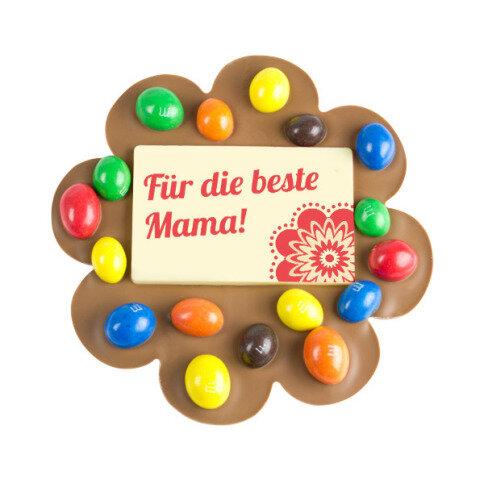 ChocoBlume 'Mama' mit Schokolinsen