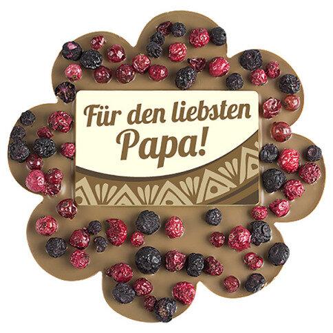 ChocoBlume 'Papa' mit Johannisbeeren, Blaubeeren