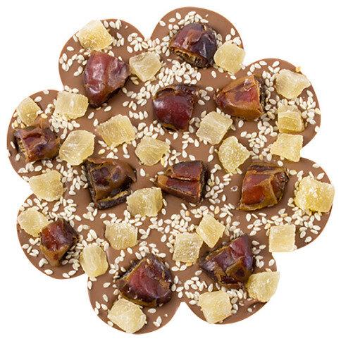 ChocoBlume mit Datteln, Ananas, Sesam