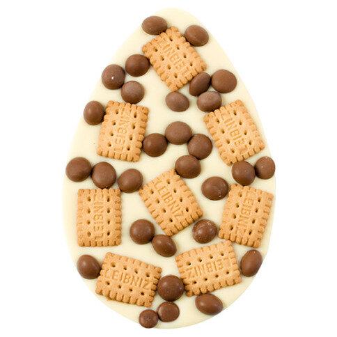 ChocoEi mit Keksen, Schokoperlen