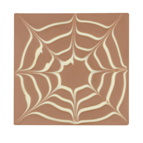 ChocoQuadrat 'Spinnennetz'