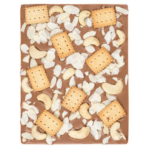 ChocoRechteck mit Keksen, Cashewkernen, Kokos
