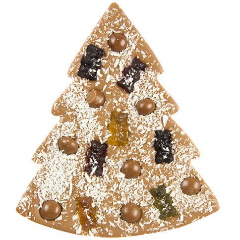 ChocoTannenbaum mit Gummibären, Kokos, Schokodrops