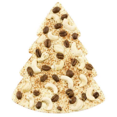 ChocoTannenbaum mit Kaffeebohnen, Cashewkernen, Zimt