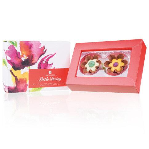 Chocolissimo Chocolate Flowers 2 - blumenförmige Pralinen