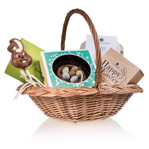 Chocolissimo Easter Box I - Osternest mit 5 Osterprodukten aus Schokolade