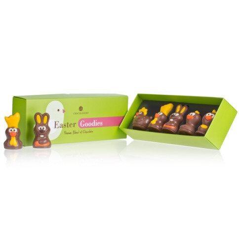 Chocolissimo Easter Crew - Fünf osterliche Schokoladenfiguren, Ostergeschenk, Ostern Schokolade