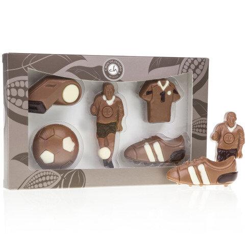 Schokoladen Fußballer Set Vollmilchschokolade