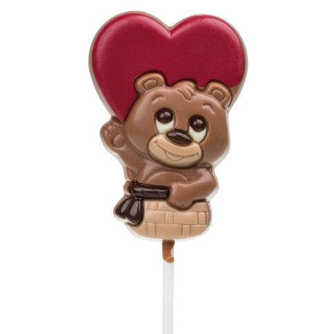 Lollipop Bärchen im Herz Ballon