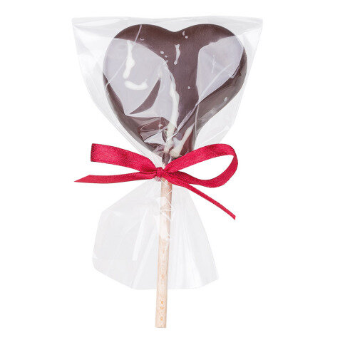 - Lollipop 'Zartbitterherz' - Onlineshop Chocolissimo