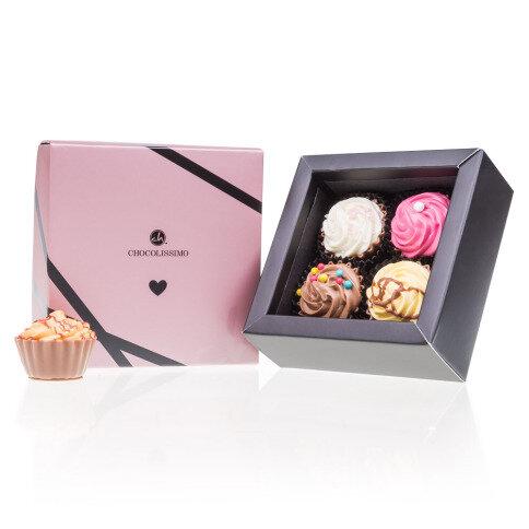 Chocolissimo Love & Cupcake 4 - Pralinen in Cupcake-Form