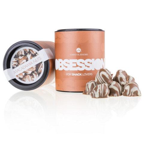 Chocolissimo Macadamia-Nüsse in Vollmilchschokolade