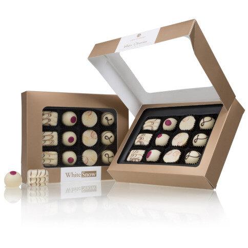 Chocolissimo Obsession White - 12 Pralinen aus weißer Schokolade mit leckeren Füllungen