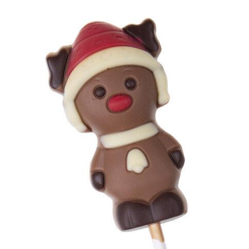 Köstlichsüsses - Rentier Schokoladenlolli - Onlineshop Chocolissimo