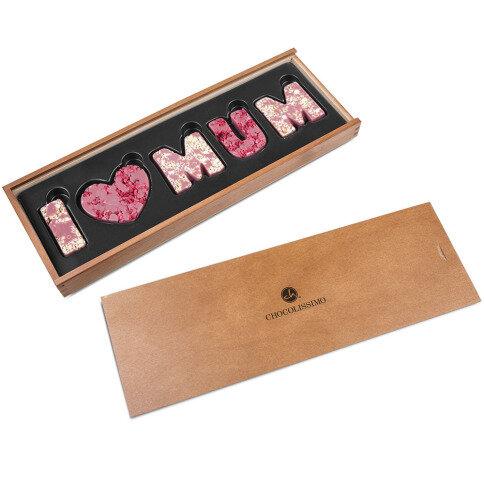 Köstlichsüsses - Ruby I love Mum - Onlineshop Chocolissimo