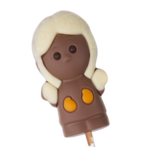 Köstlichsüsses - Schokoladen Lolli Engel - Onlineshop Chocolissimo