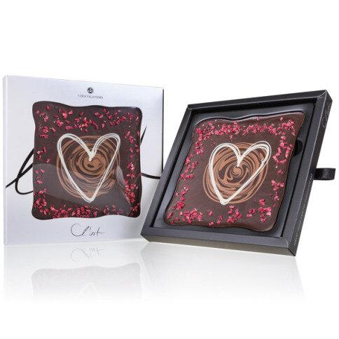 Schokoladentafel L'Art Herz
