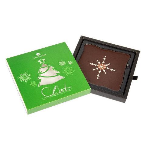 Schokoladentafel L'Art Weihnachtsbaum