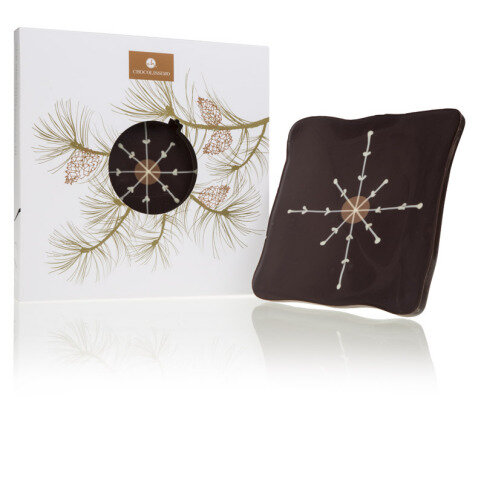 Schokoladentafel L'Art Christmas Star
