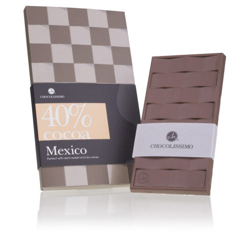 Vollmilchschokolade 'Mexiko' 40 Kakao
