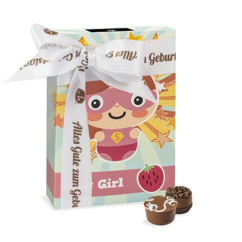Köstlichsüsses - Super Girl Geburtstag - Onlineshop Chocolissimo