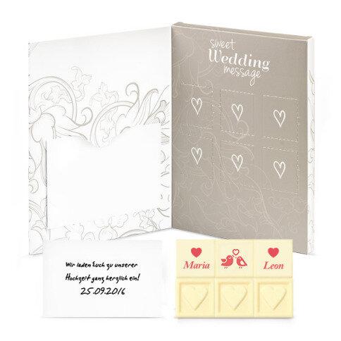 Sweet Wedding Message individuelle Gestaltung