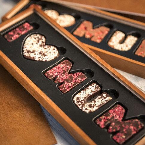 I love Mum Zartbitterschokolade
