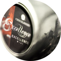 Excellence Pralinen in Metalldosen