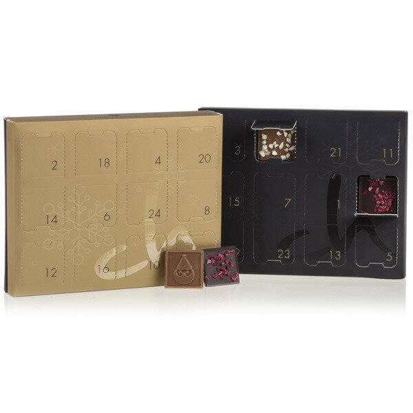 tisch adventskalender winter adventskalender. Black Bedroom Furniture Sets. Home Design Ideas