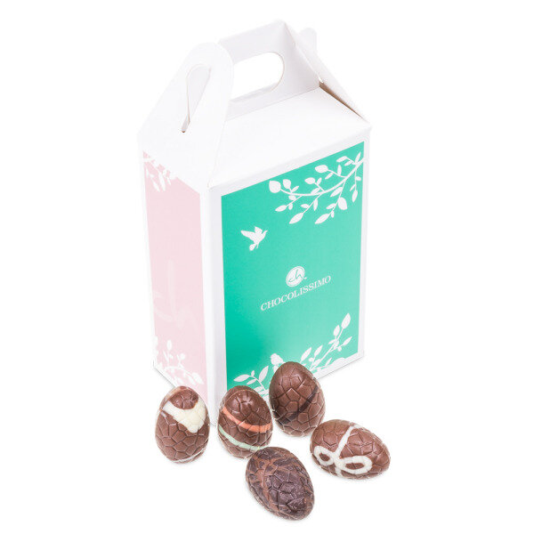 Nuts And Praline Easter Egg: Easter Egg Pralines