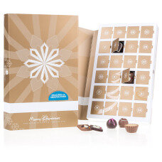 Advent Book Pralines & Neapolitans - ohne Alkohol - Adventskalender