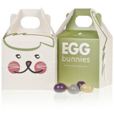 Bunny with Caramel Eggs
