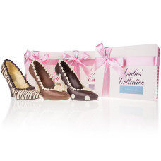 Choco High Heel Set - 3 Pumps aus Schokolade