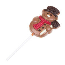 Lollipop Snowman Milk