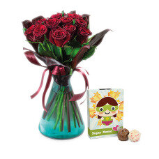 Rote Rosen & Super Mom